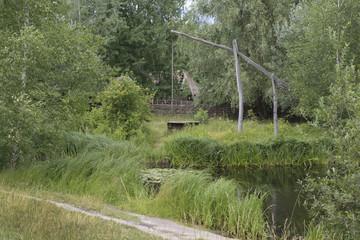 Traditional Ukrainian landscape