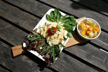 organisch, lifestyle, gesunde, ernährung, kieselsäure, einfachheit, modern, neu, lunch