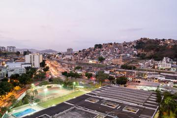 Movement of the city of Rio de Janeiro