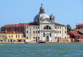 Wall Mural - Venice - Zitelle Church on Giudecca island
