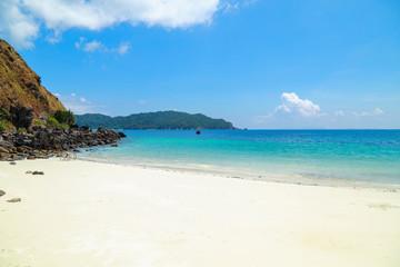 Tropical beach scenery, Andaman sea, Myanmar