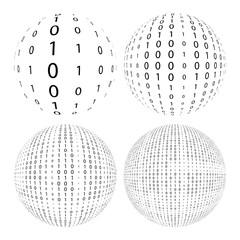 4 binary balls
