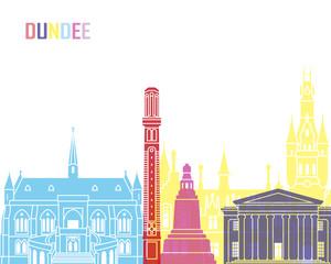 Wall Mural - Dundee skyline pop