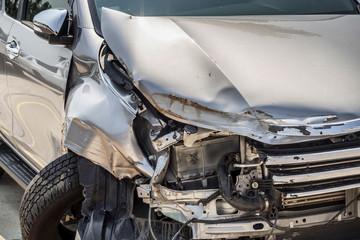 car crash accident background