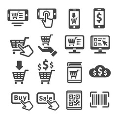 online shopping,e-commerce icon