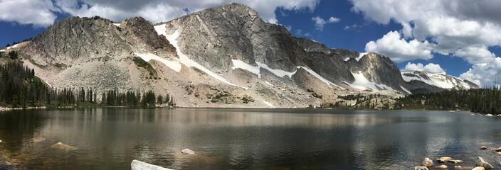 Lake Marie in the Snowy Range of Wyoming