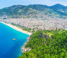 The mountains of Alanya
