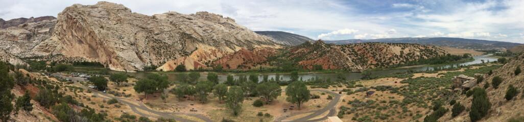 View across Dinosaur National Monument, Utah