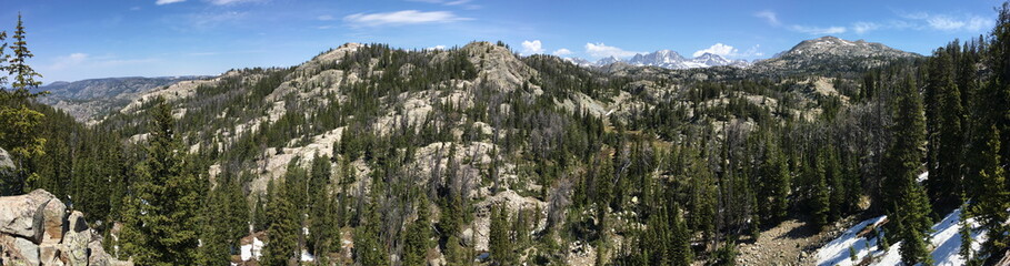 View of the Wind River Range, Wyoming
