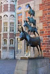 Bremen Musicians statue