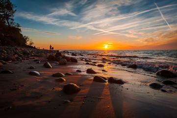 Obraz Rozewie, Morze Bałtyckie - fototapety do salonu