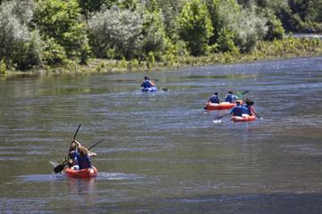 Descenso de río en Kayak