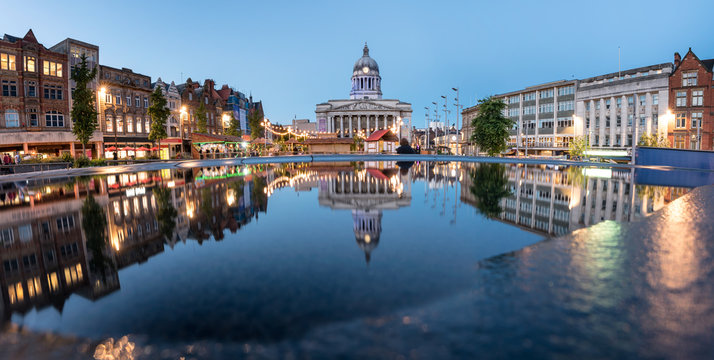 Nottingham Town Hall England