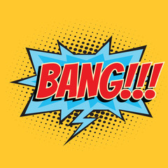 bang comic word