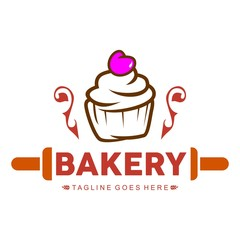 Outstanding Unique Bakery Logo Template