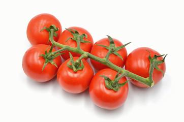 tomato on a white background isolated photo