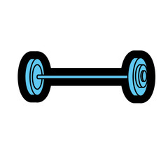 dumbbell fitness tool to do exercise and training