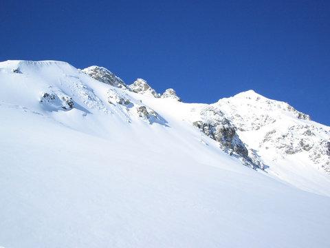 Schweitzer Berge im Winter