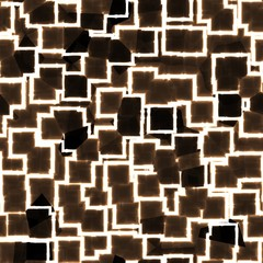 Seamless abstract dark and light brown multimedia cyber design