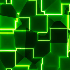 Abstract glowing net computer application design wallpaper