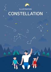 Constellation illustration