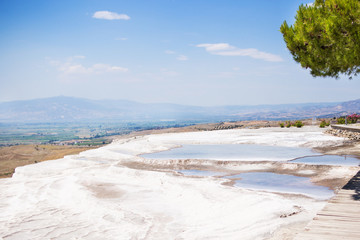 The travertines of Pamukkale
