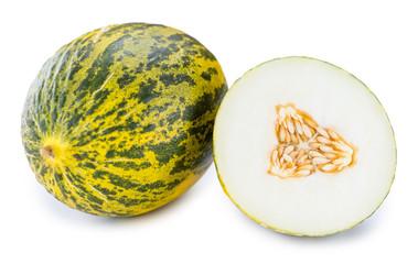Fresh Futuro Melon (isolated on white)