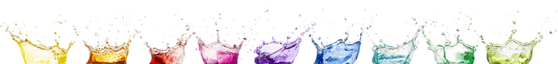 rainbow liquid splash crowns collection