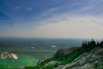Scenic view over the New England landscape