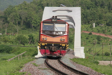 The longest railroad With the transport that has long been by train