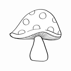 Mushroom coloring