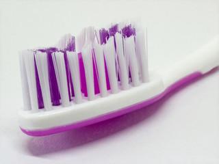 Toothbrush  for dental teeth hygiene on white background