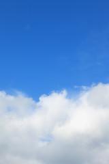Cloud in the sky.