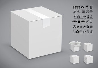 Cardboard Box Packing Insructions Kit 2