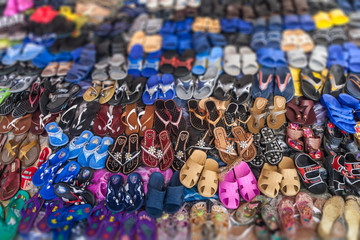 Display of shoes