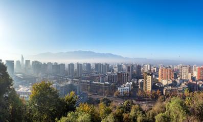 Santiago Cityscape Panorama