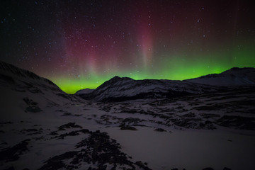 Athabasca Glacier & The northern Lights