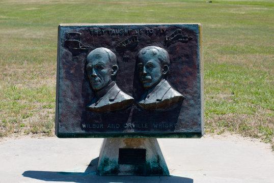 Wright Brothers National Memorial in Kitty Hawk North Carolina