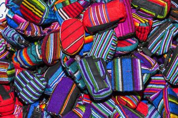 Handmade traditional guatemalan design