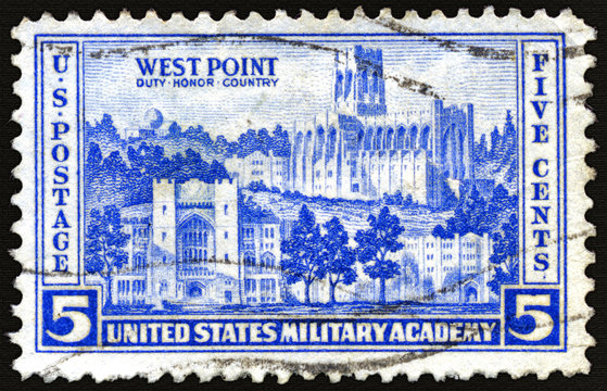 Duty, Honor, Country: West Point Military Academy Postage Stamp