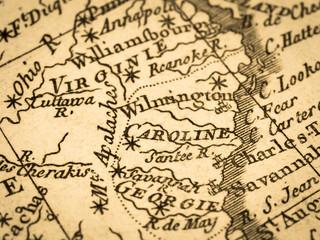 古地図 アメリカ中東部