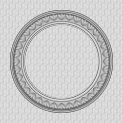 Vector round frame