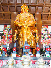 Che Kung God statue at Che Kung Temple