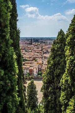 Verona - veduta dalle Torricelle
