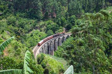 9 Arches Bridge in Ella, Sri Lanka