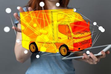 logistik transporter