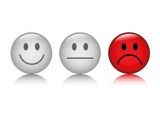 smiley bewertung negativ