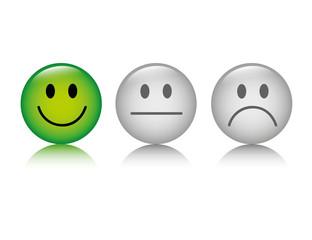 smiley bewertung positiv