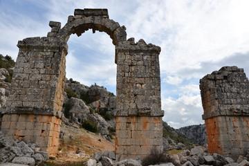 The ancient city of Olba in Mersin Turkey