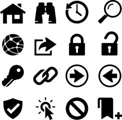 Internet Icons - Black Series